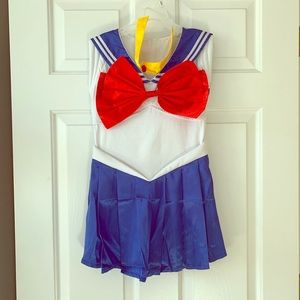 Other - Girls size 10 sailor moon costume